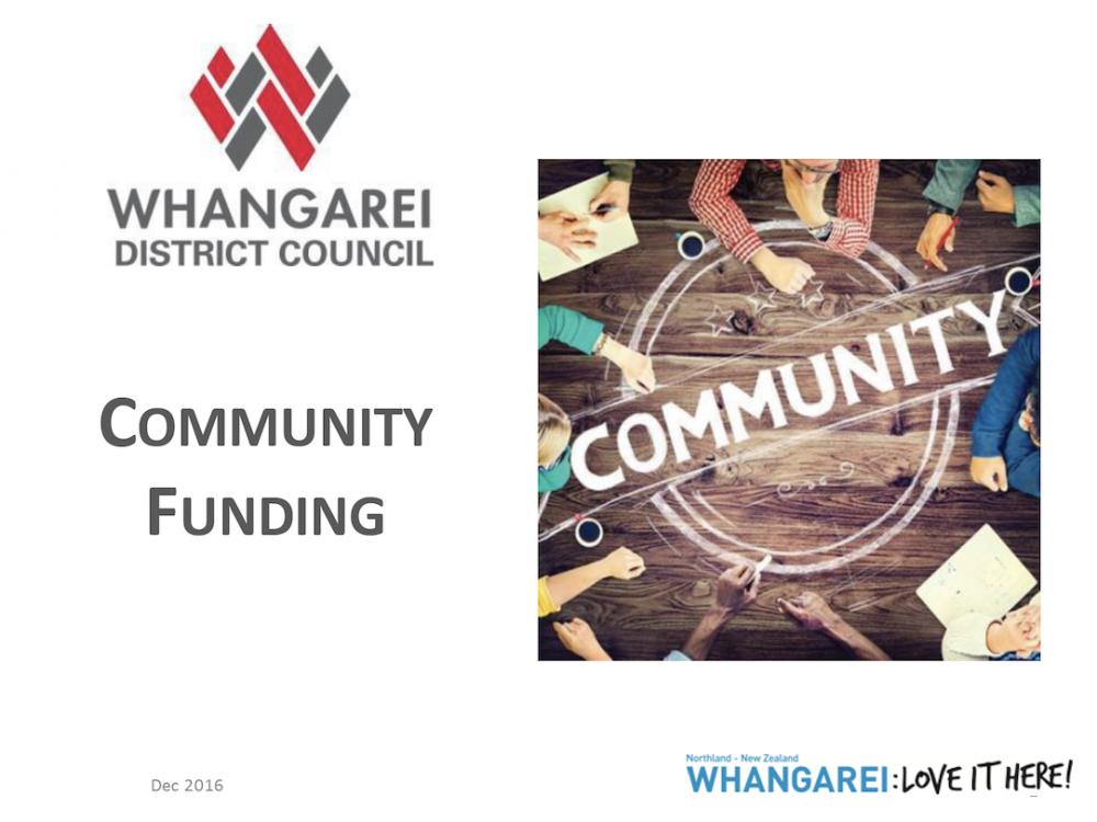Funder - Owen Thomas (Whangarei District Council) Image